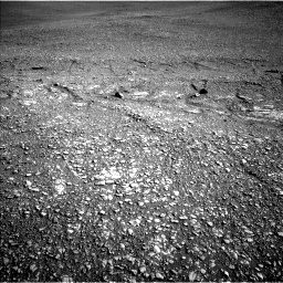 Nasa's Mars rover Curiosity acquired this image using its Left Navigation Camera on Sol 2429, at drive 3154, site number 75