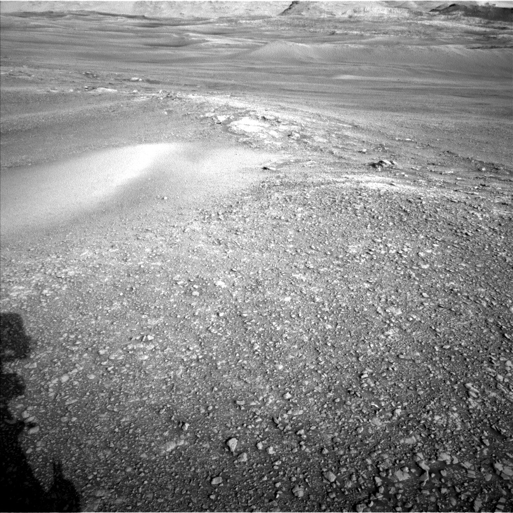 Nasa's Mars rover Curiosity acquired this image using its Left Navigation Camera on Sol 2429, at drive 0, site number 76