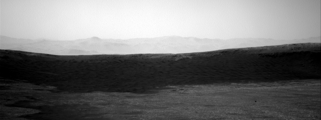 Nasa's Mars rover Curiosity acquired this image using its Right Navigation Camera on Sol 2430, at drive 0, site number 76