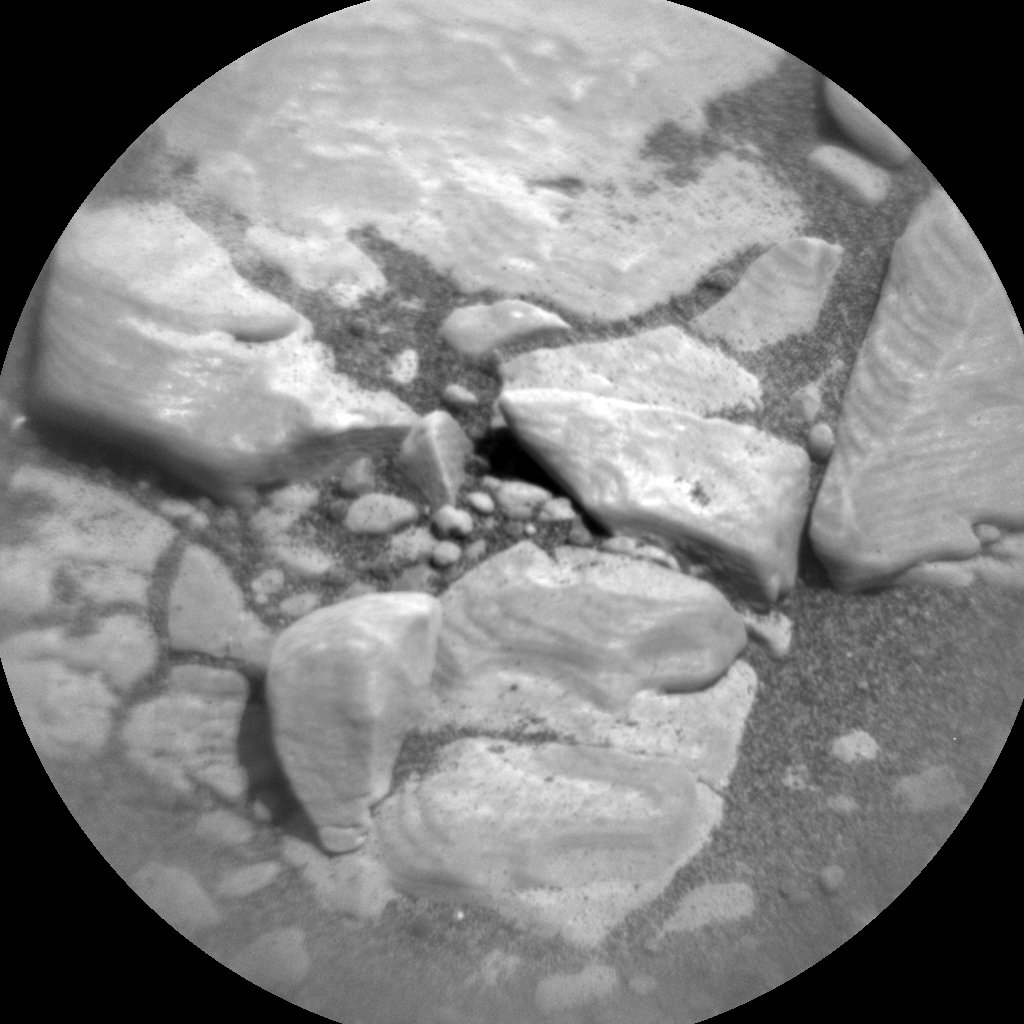 Nasa's Mars rover Curiosity acquired this image using its Chemistry & Camera (ChemCam) on Sol 2430, at drive 0, site number 76