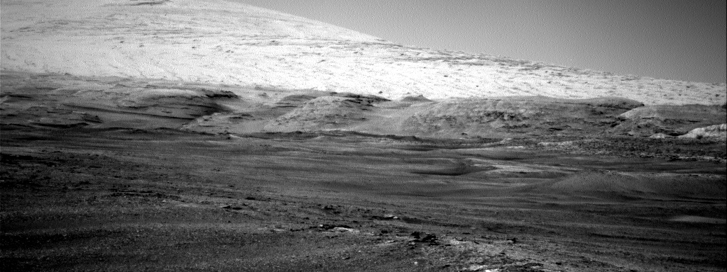 Nasa's Mars rover Curiosity acquired this image using its Right Navigation Camera on Sol 2431, at drive 0, site number 76