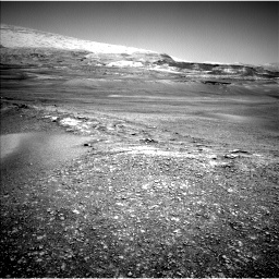 Nasa's Mars rover Curiosity acquired this image using its Left Navigation Camera on Sol 2432, at drive 12, site number 76