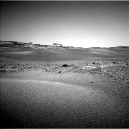Nasa's Mars rover Curiosity acquired this image using its Left Navigation Camera on Sol 2432, at drive 102, site number 76