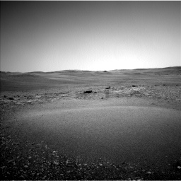 Nasa's Mars rover Curiosity acquired this image using its Left Navigation Camera on Sol 2432, at drive 132, site number 76