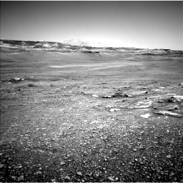 Nasa's Mars rover Curiosity acquired this image using its Left Navigation Camera on Sol 2432, at drive 192, site number 76