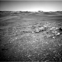 Nasa's Mars rover Curiosity acquired this image using its Left Navigation Camera on Sol 2432, at drive 216, site number 76