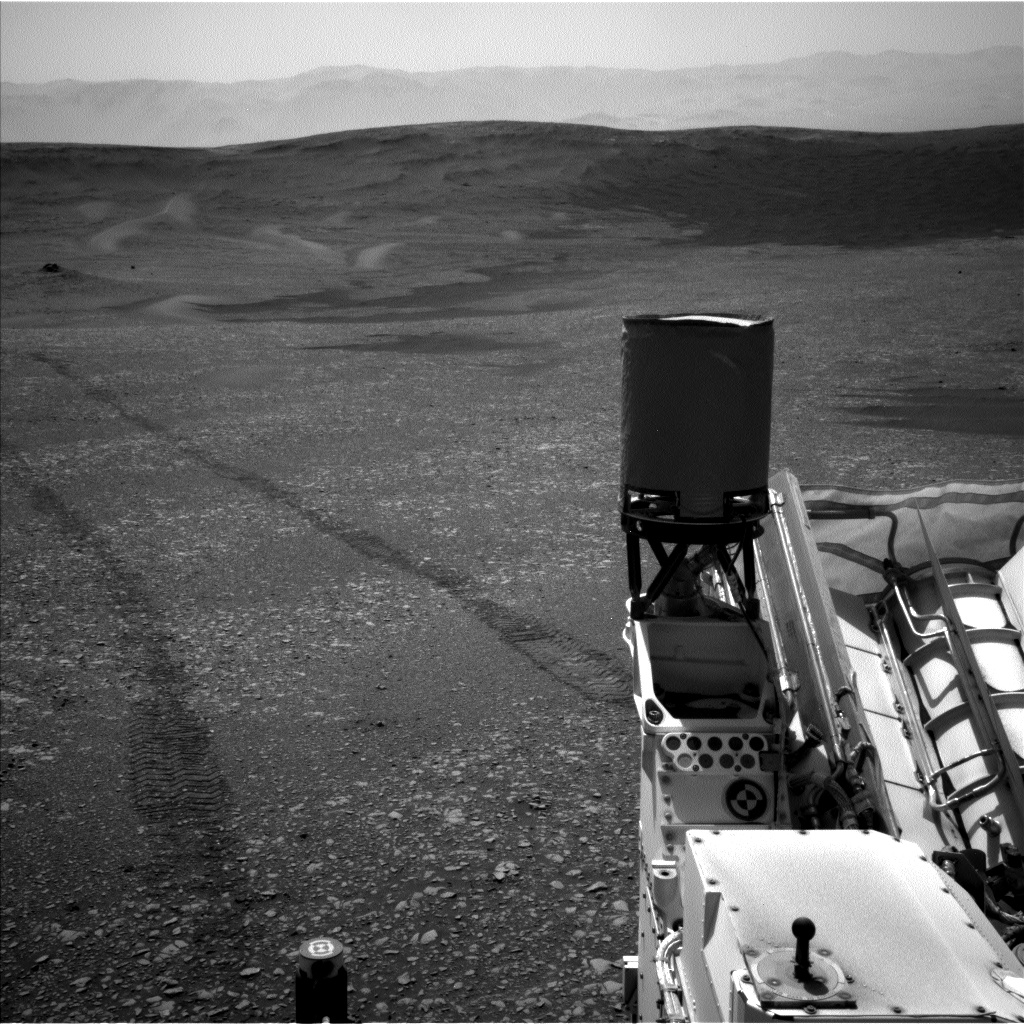 Nasa's Mars rover Curiosity acquired this image using its Left Navigation Camera on Sol 2432, at drive 274, site number 76
