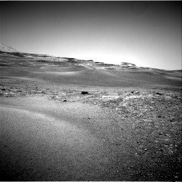 Nasa's Mars rover Curiosity acquired this image using its Right Navigation Camera on Sol 2432, at drive 90, site number 76