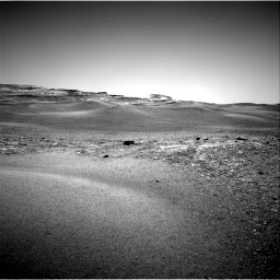 Nasa's Mars rover Curiosity acquired this image using its Right Navigation Camera on Sol 2432, at drive 96, site number 76