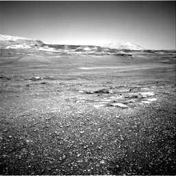 Nasa's Mars rover Curiosity acquired this image using its Right Navigation Camera on Sol 2432, at drive 180, site number 76
