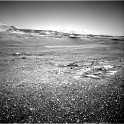 Nasa's Mars rover Curiosity acquired this image using its Right Navigation Camera on Sol 2432, at drive 186, site number 76