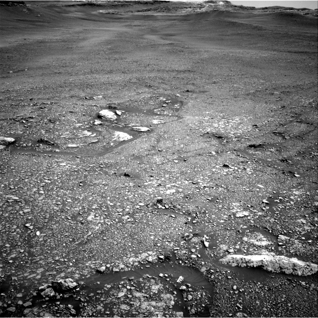 Nasa's Mars rover Curiosity acquired this image using its Right Navigation Camera on Sol 2432, at drive 274, site number 76