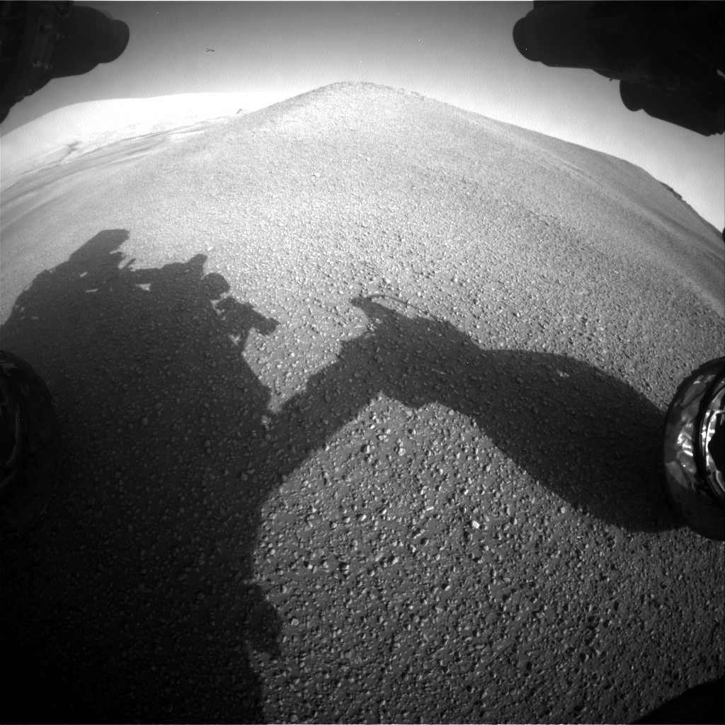 Sol 2435: Forecast: It's pebbly out there