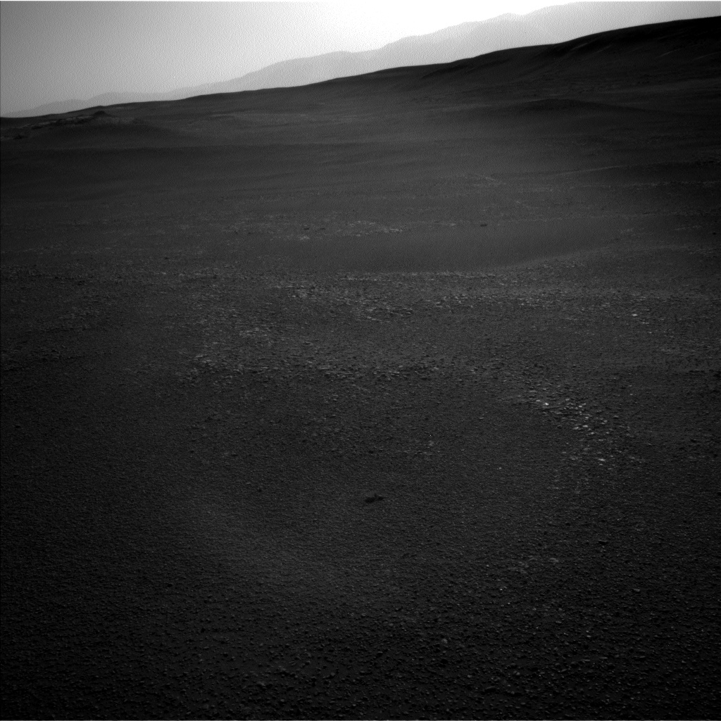 Nasa's Mars rover Curiosity acquired this image using its Left Navigation Camera on Sol 2434, at drive 568, site number 76