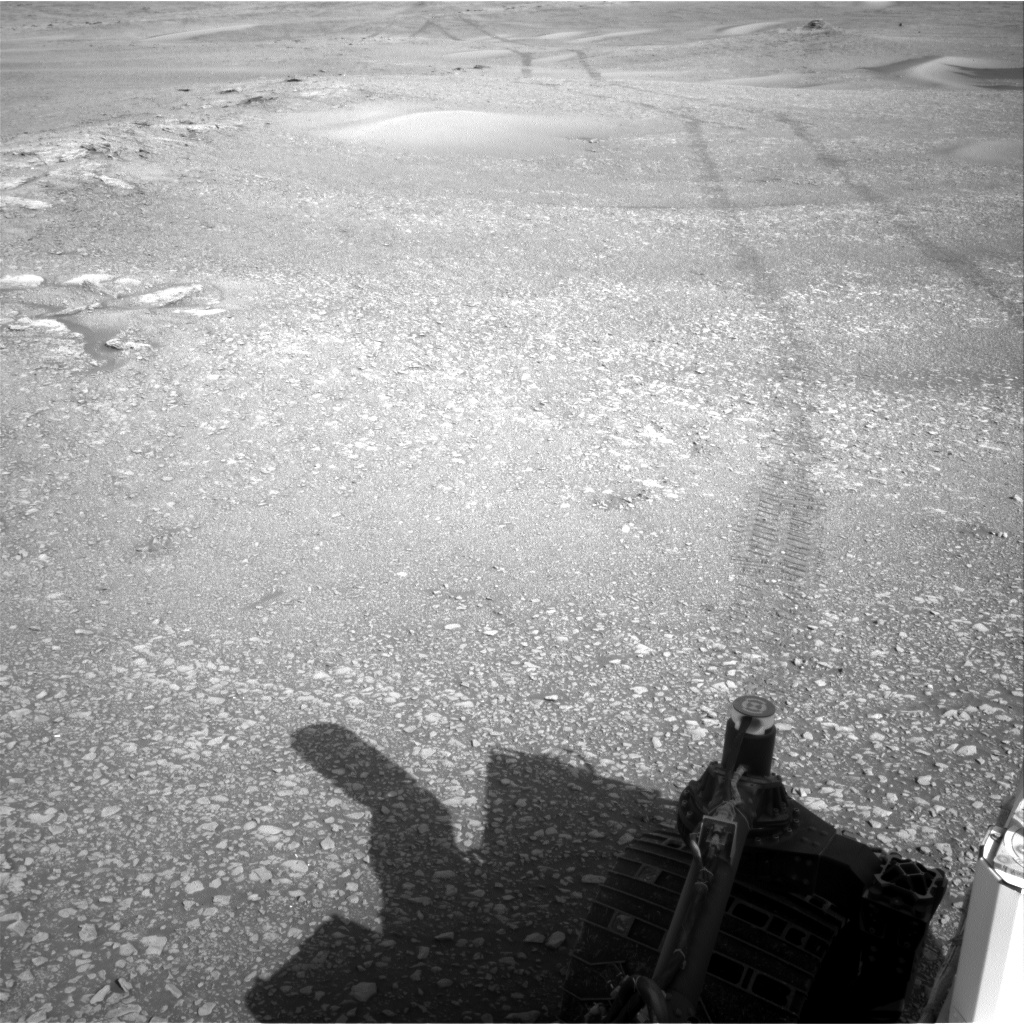 Nasa's Mars rover Curiosity acquired this image using its Right Navigation Camera on Sol 2434, at drive 274, site number 76