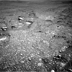 Nasa's Mars rover Curiosity acquired this image using its Right Navigation Camera on Sol 2434, at drive 292, site number 76
