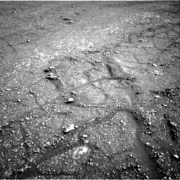 Nasa's Mars rover Curiosity acquired this image using its Right Navigation Camera on Sol 2434, at drive 340, site number 76