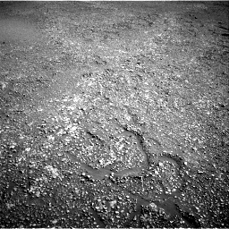 Nasa's Mars rover Curiosity acquired this image using its Right Navigation Camera on Sol 2434, at drive 376, site number 76