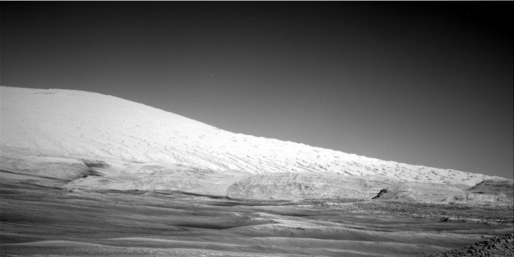 Nasa's Mars rover Curiosity acquired this image using its Right Navigation Camera on Sol 2434, at drive 568, site number 76