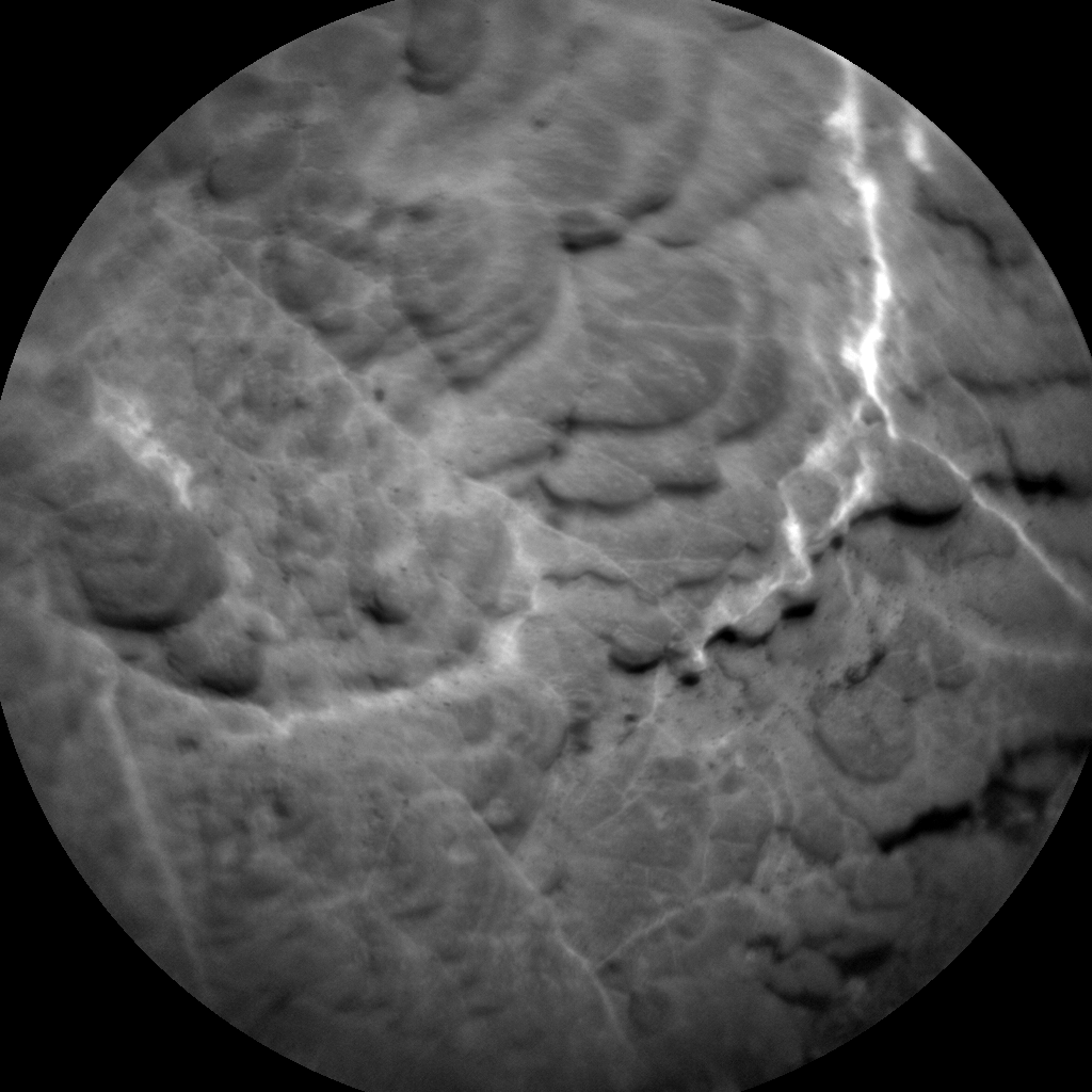 Nasa's Mars rover Curiosity acquired this image using its Chemistry & Camera (ChemCam) on Sol 2434, at drive 274, site number 76