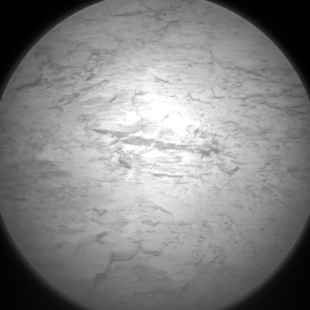 Nasa's Mars rover Curiosity acquired this image using its Chemistry & Camera (ChemCam) on Sol 2435, at drive 568, site number 76
