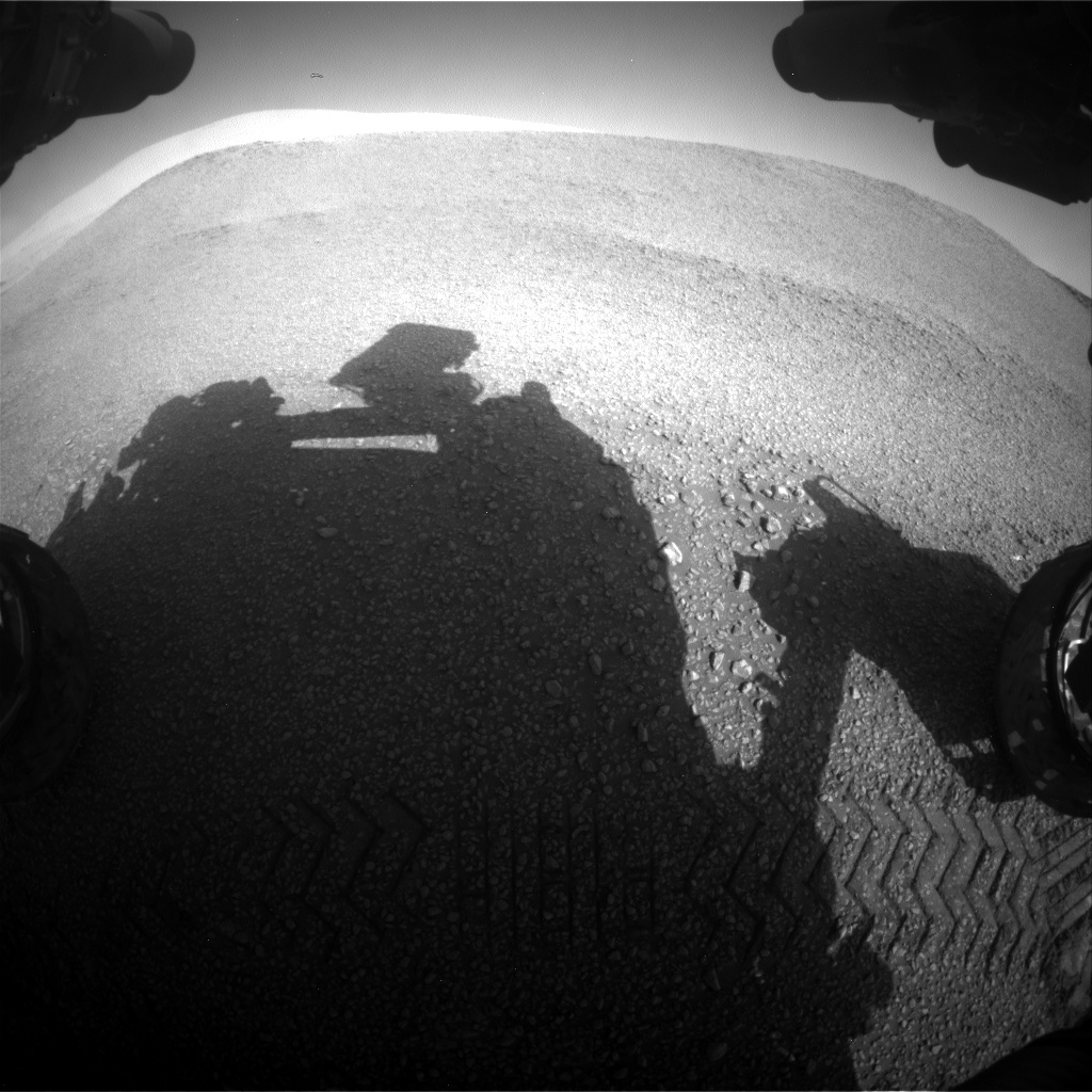Nasa's Mars rover Curiosity acquired this image using its Front Hazard Avoidance Camera (Front Hazcam) on Sol 2435, at drive 664, site number 76
