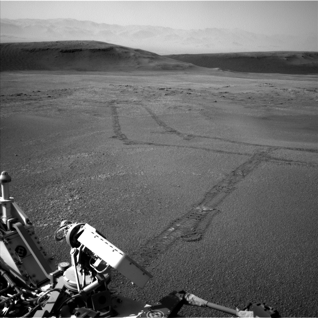 Nasa's Mars rover Curiosity acquired this image using its Left Navigation Camera on Sol 2435, at drive 664, site number 76