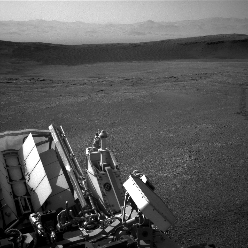 Nasa's Mars rover Curiosity acquired this image using its Right Navigation Camera on Sol 2435, at drive 664, site number 76