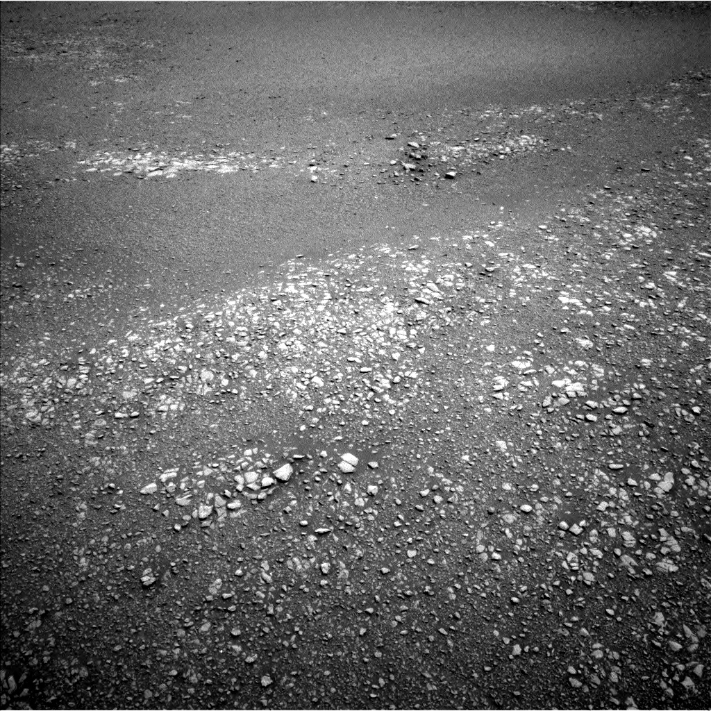 Nasa's Mars rover Curiosity acquired this image using its Left Navigation Camera on Sol 2436, at drive 802, site number 76