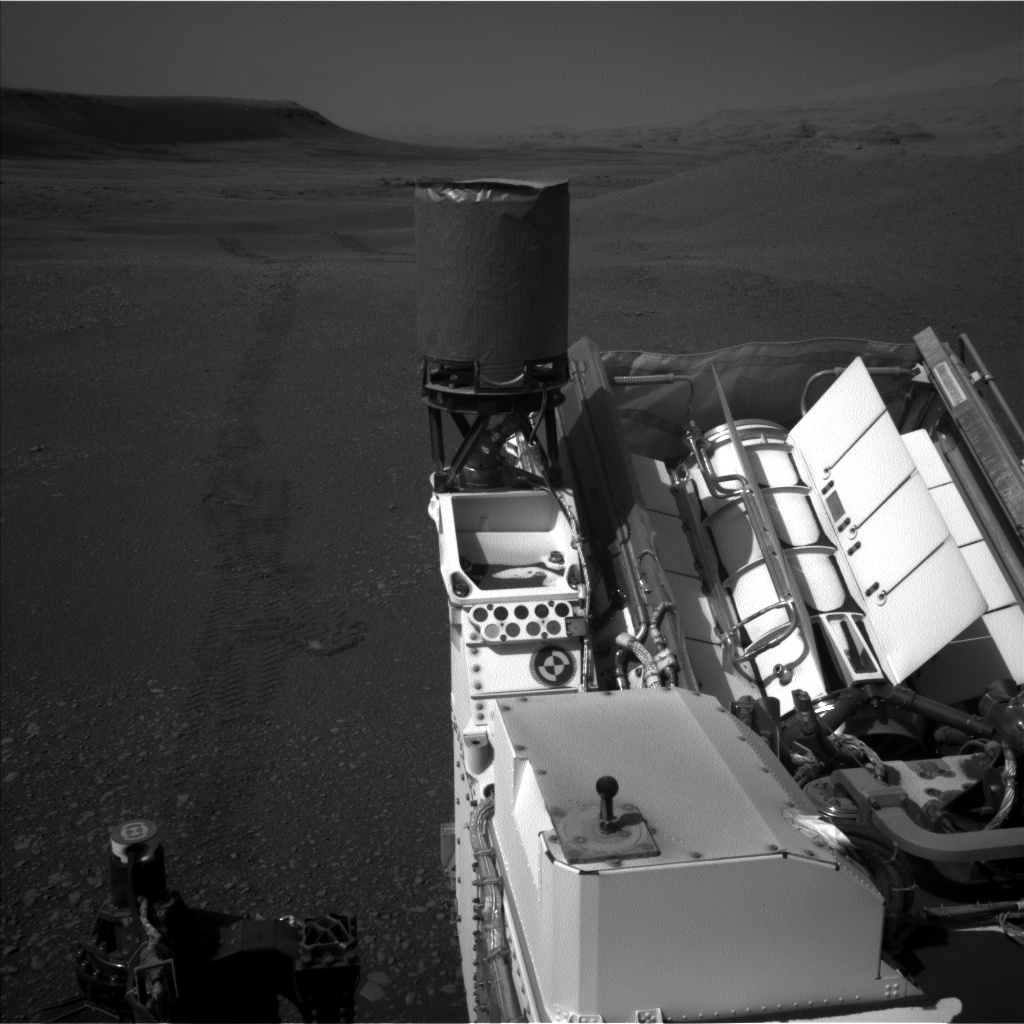 Nasa's Mars rover Curiosity acquired this image using its Left Navigation Camera on Sol 2436, at drive 832, site number 76