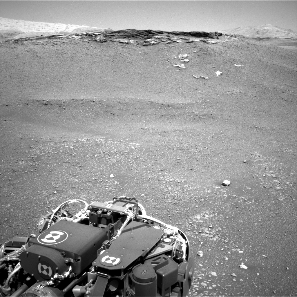Nasa's Mars rover Curiosity acquired this image using its Right Navigation Camera on Sol 2436, at drive 832, site number 76
