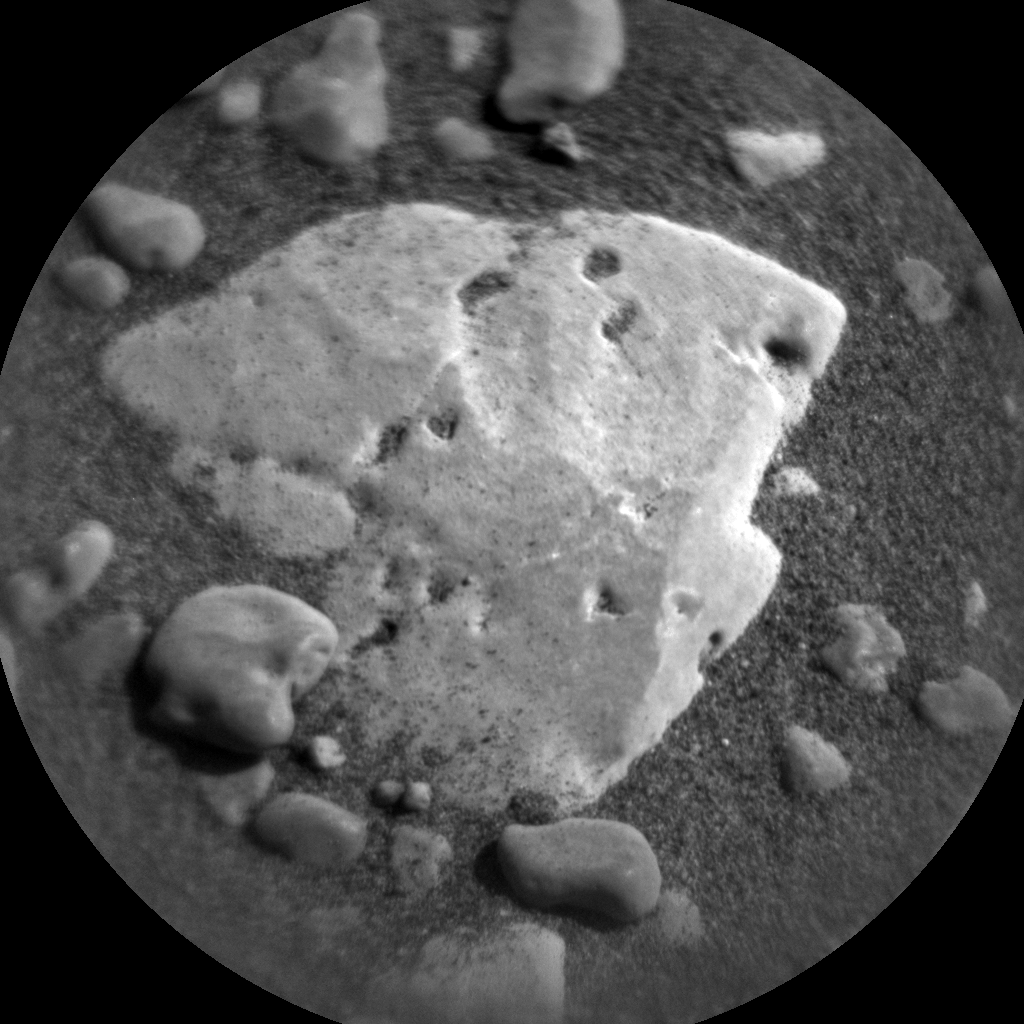 Nasa's Mars rover Curiosity acquired this image using its Chemistry & Camera (ChemCam) on Sol 2436, at drive 832, site number 76