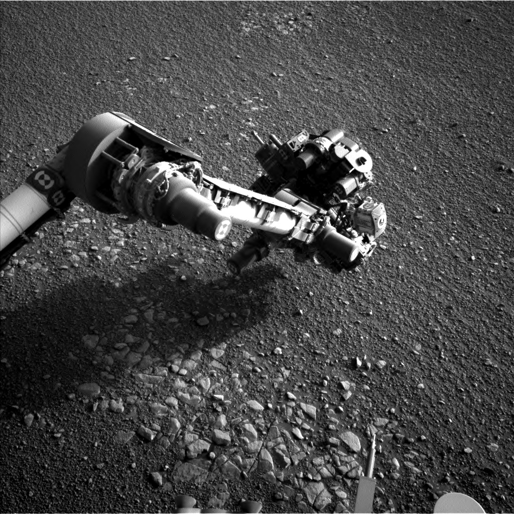 Nasa's Mars rover Curiosity acquired this image using its Left Navigation Camera on Sol 2437, at drive 832, site number 76