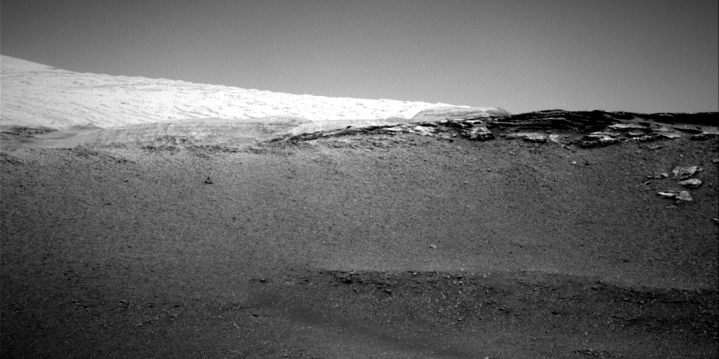 Nasa's Mars rover Curiosity acquired this image using its Right Navigation Camera on Sol 2437, at drive 832, site number 76