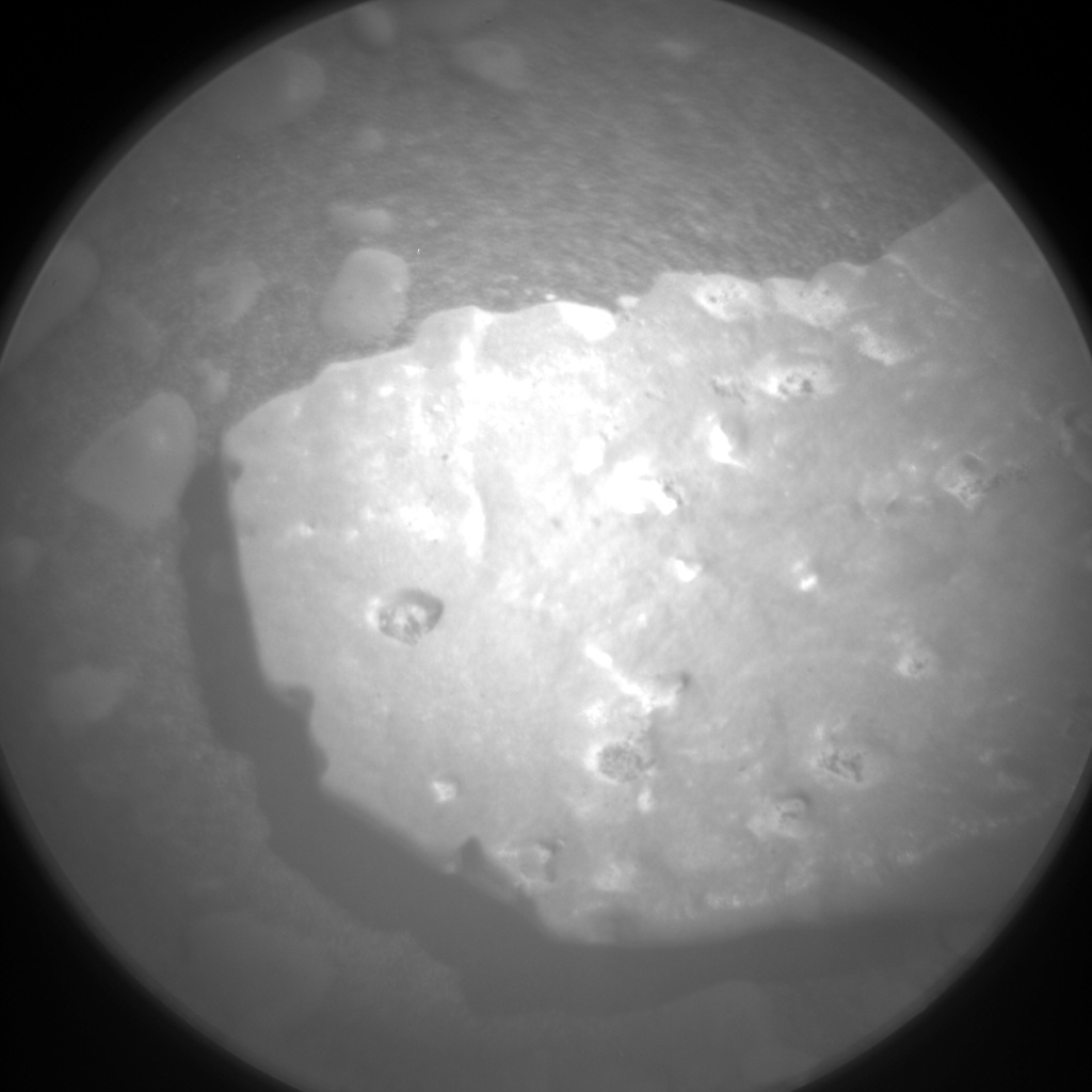 Nasa's Mars rover Curiosity acquired this image using its Chemistry & Camera (ChemCam) on Sol 2438, at drive 832, site number 76