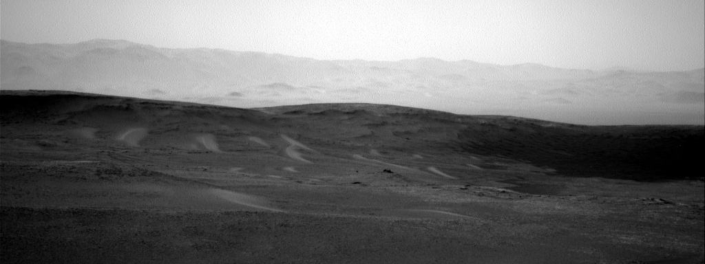 Nasa's Mars rover Curiosity acquired this image using its Right Navigation Camera on Sol 2438, at drive 832, site number 76