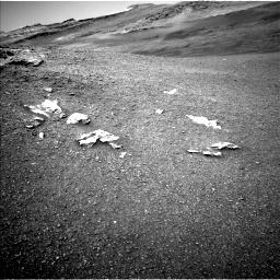 Nasa's Mars rover Curiosity acquired this image using its Left Navigation Camera on Sol 2439, at drive 928, site number 76