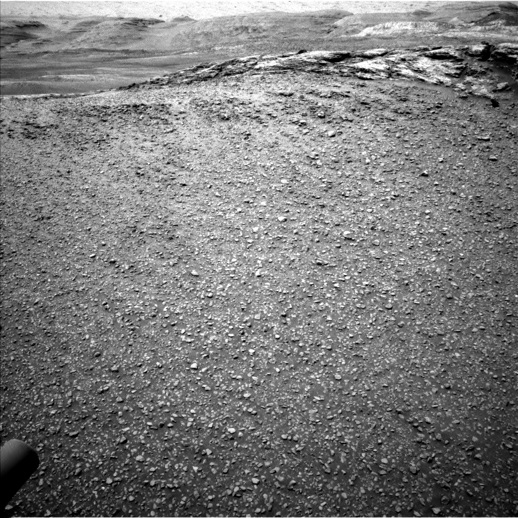 Nasa's Mars rover Curiosity acquired this image using its Left Navigation Camera on Sol 2439, at drive 934, site number 76
