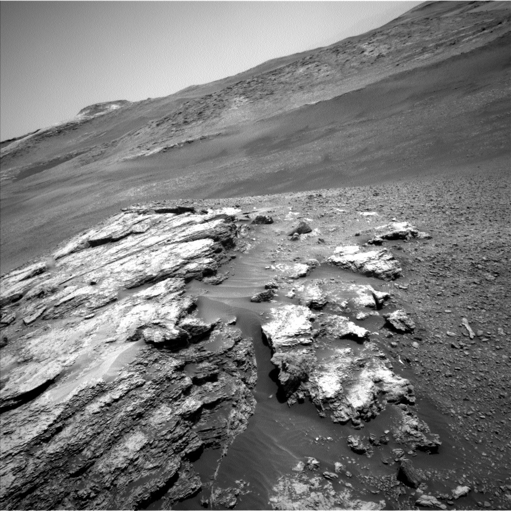 NASA's Mars rover Curiosity acquired this image using its Left Navigation Camera (Navcams) on Sol 2439