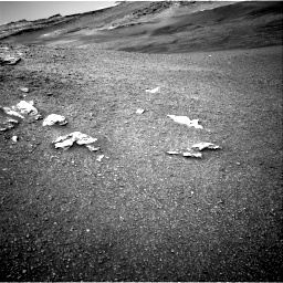 Nasa's Mars rover Curiosity acquired this image using its Right Navigation Camera on Sol 2439, at drive 934, site number 76
