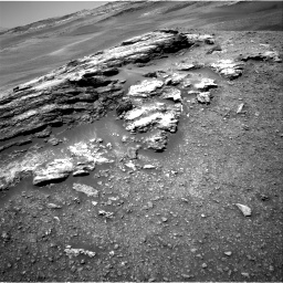Nasa's Mars rover Curiosity acquired this image using its Right Navigation Camera on Sol 2439, at drive 964, site number 76