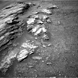 Nasa's Mars rover Curiosity acquired this image using its Right Navigation Camera on Sol 2439, at drive 976, site number 76