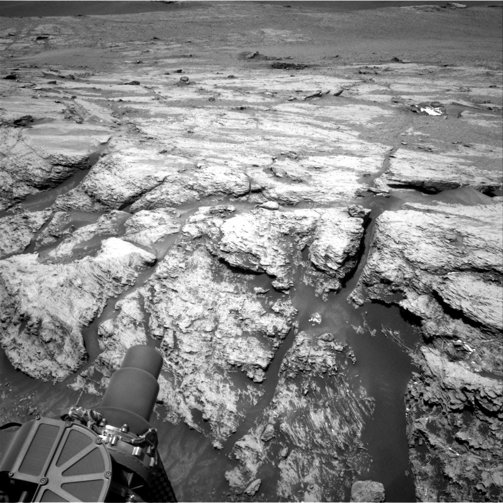 Nasa's Mars rover Curiosity acquired this image using its Right Navigation Camera on Sol 2440, at drive 988, site number 76