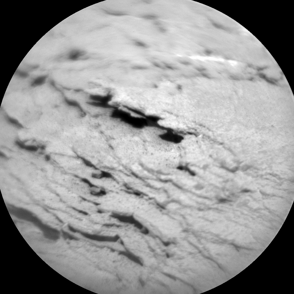 Nasa's Mars rover Curiosity acquired this image using its Chemistry & Camera (ChemCam) on Sol 2440, at drive 988, site number 76