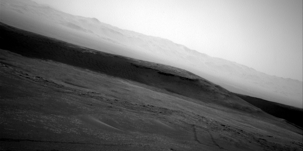 Nasa's Mars rover Curiosity acquired this image using its Right Navigation Camera on Sol 2442, at drive 988, site number 76