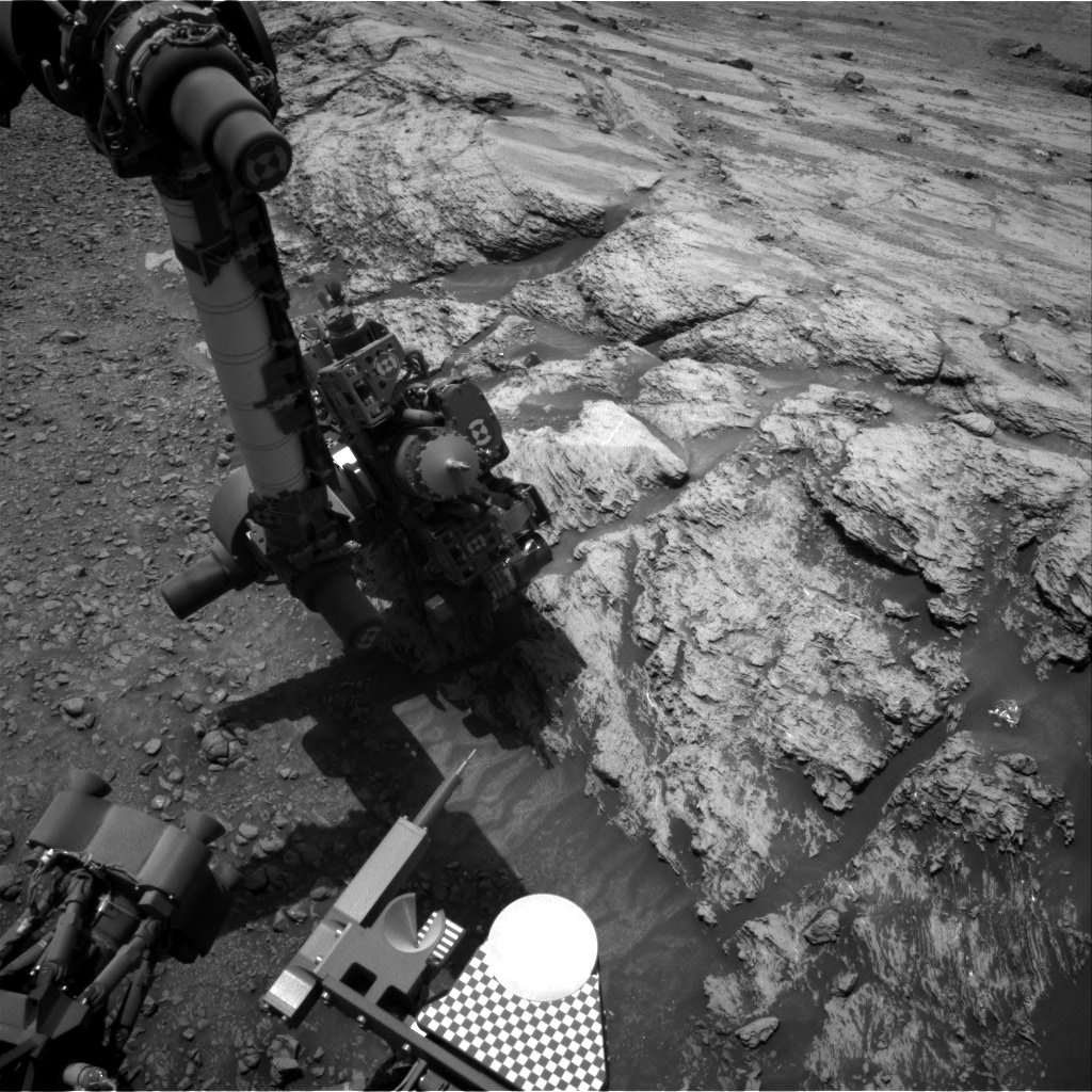 Nasa's Mars rover Curiosity acquired this image using its Right Navigation Camera on Sol 2444, at drive 988, site number 76
