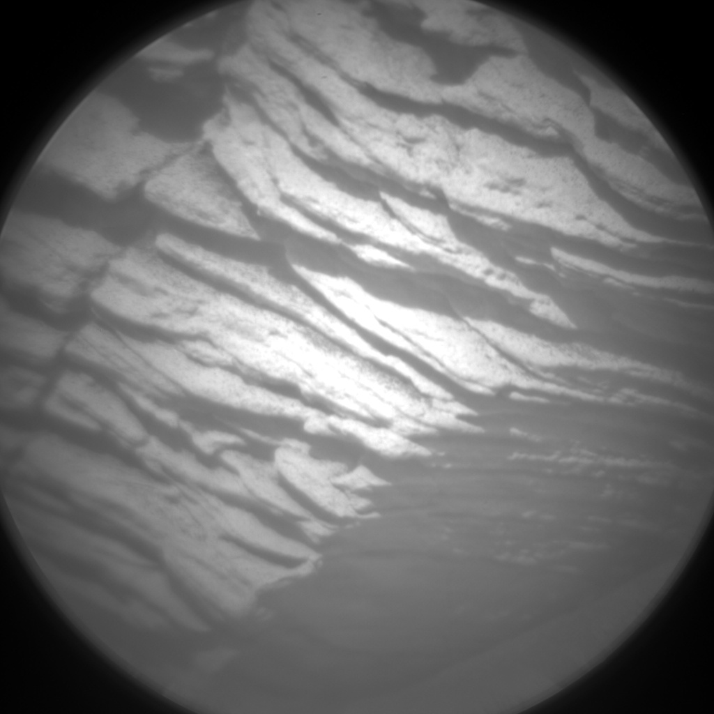 Nasa's Mars rover Curiosity acquired this image using its Chemistry & Camera (ChemCam) on Sol 2446, at drive 988, site number 76