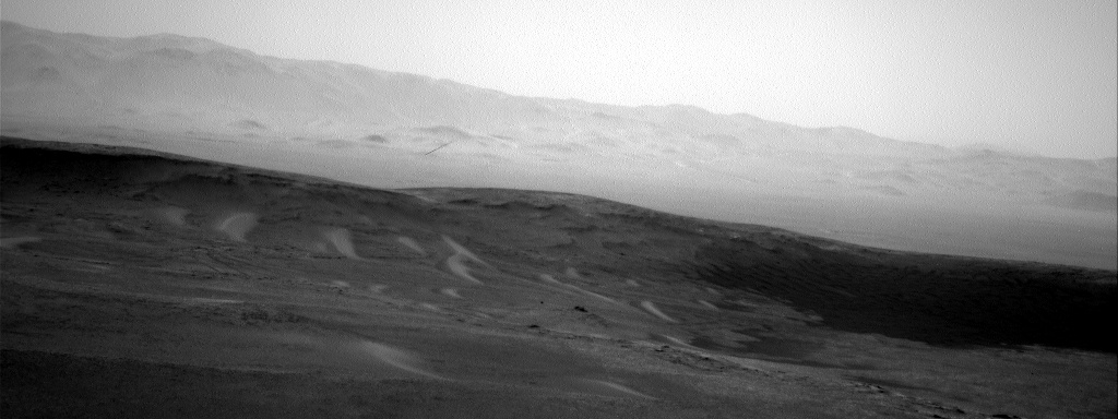 Nasa's Mars rover Curiosity acquired this image using its Right Navigation Camera on Sol 2446, at drive 988, site number 76