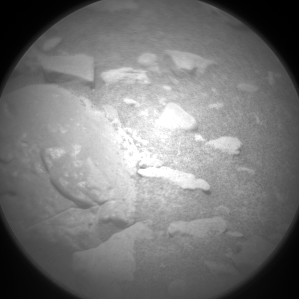 Nasa's Mars rover Curiosity acquired this image using its Chemistry & Camera (ChemCam) on Sol 2447, at drive 988, site number 76