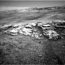 Nasa's Mars rover Curiosity acquired this image using its Left Navigation Camera on Sol 2447, at drive 1000, site number 76